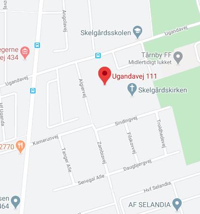 Ugandavej 111 - 2770 kastrup map
